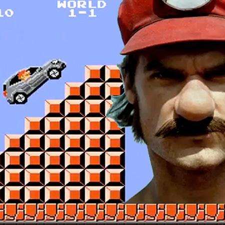 Mercedes-Benz нанял Марио из Денди