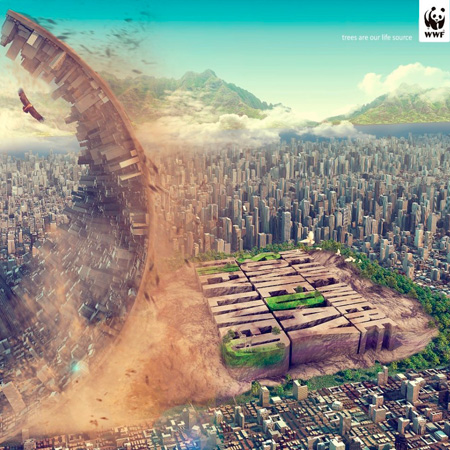 Чумовая реклама от WWF